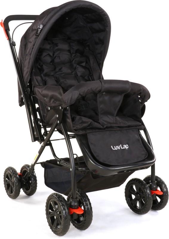 LuvLap Starshine Stroller(Multi, Black)