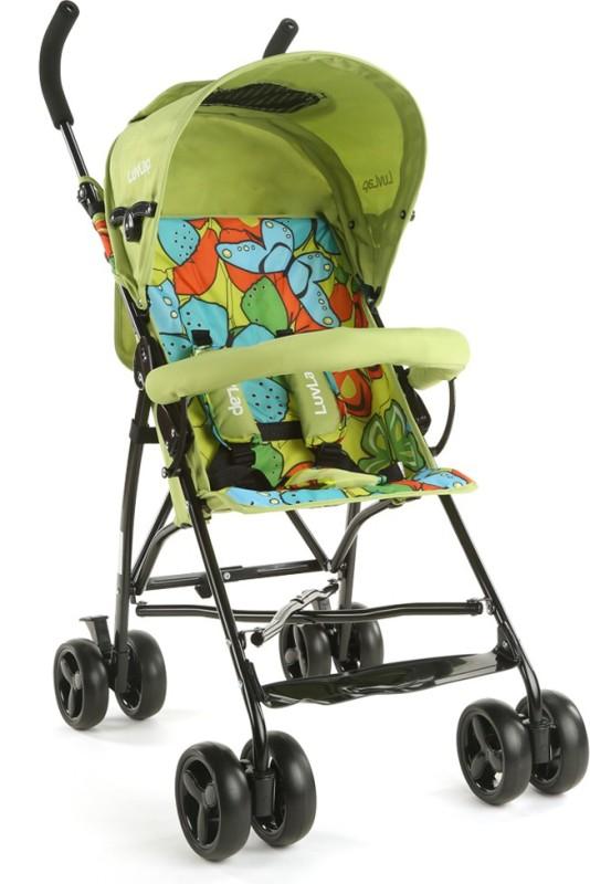 LuvLap Tutti Frutti Baby Buggy - Green Stroller(3, Green)