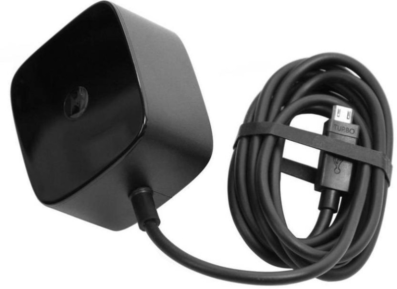 Motorola Pe turbo 2.8 A charger Mobile Charger(Black)