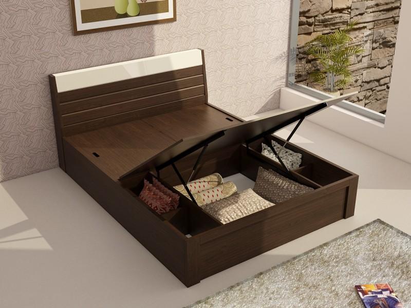 Deals | Hydraulic Storage Beds Spacewood, Furniturekraft &