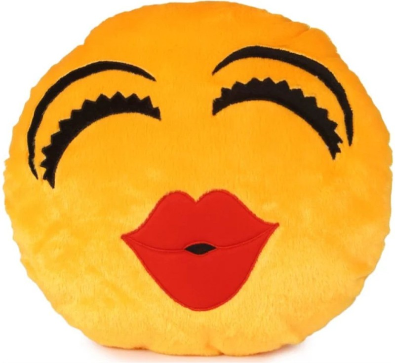 Kashish Trading Company Yellow Cute And Soft Cushion 14 Inch Strap on Breast Pillow