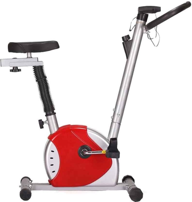 Kobo Cycle Upright Stationary Exercise Bike(Red, Grey)