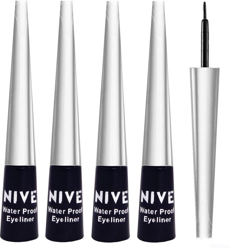 Nive Long Lasting Water Proof Black Eyeliner 20 g(Black)