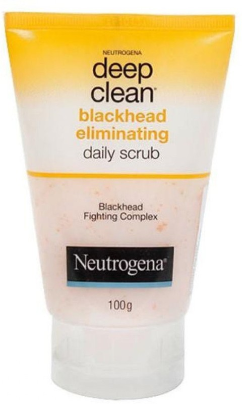 Neutrogena Deep Clean Black Head Eliminating Scrub(100 g)