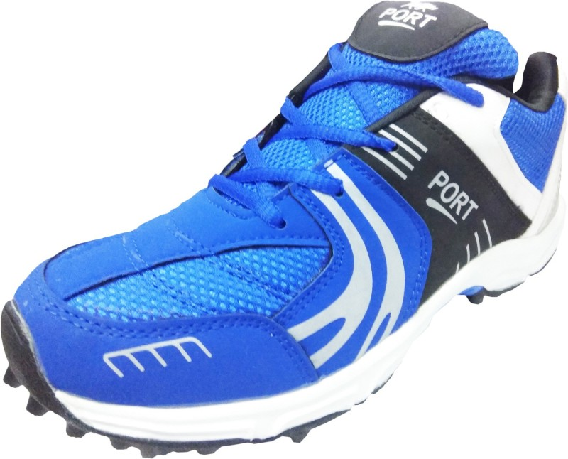 Port Razzer Cricket Shoes For Men(Blue)