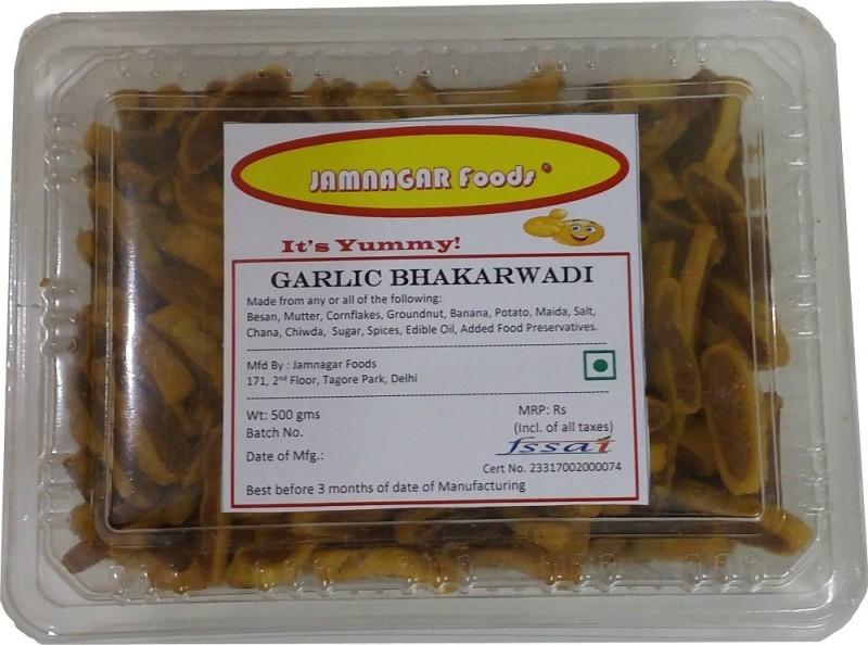 Jamnagar Foods GARLIC BHAKARWADI(500 g)