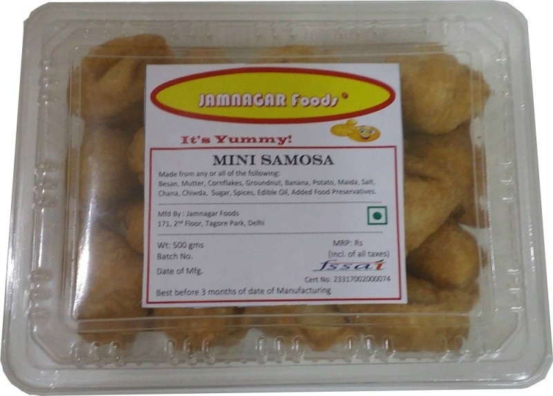 Jamnagar Foods MINI SAMOSA(500 g)