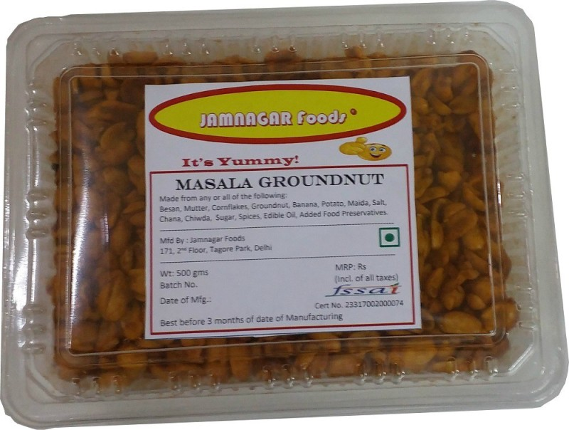 Jamnagar Foods MASALA GROUNDNUT(500 g)