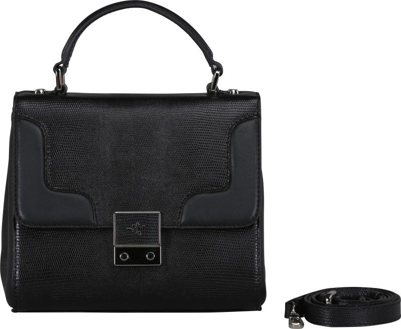Ilex london Women Black Hand-held Bag