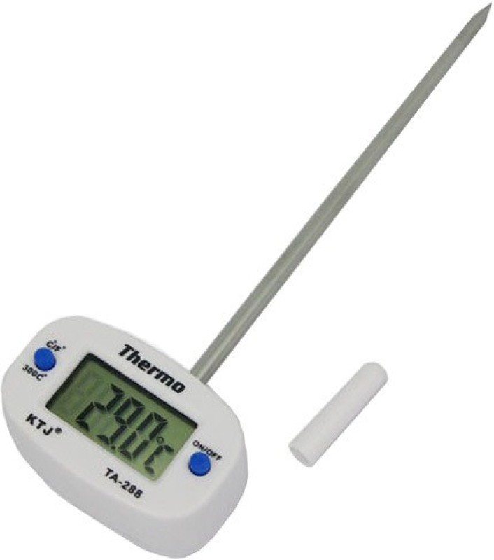 Futaba Digital Probe Food Temperature Thermometer with Fork Kitchen Thermometer