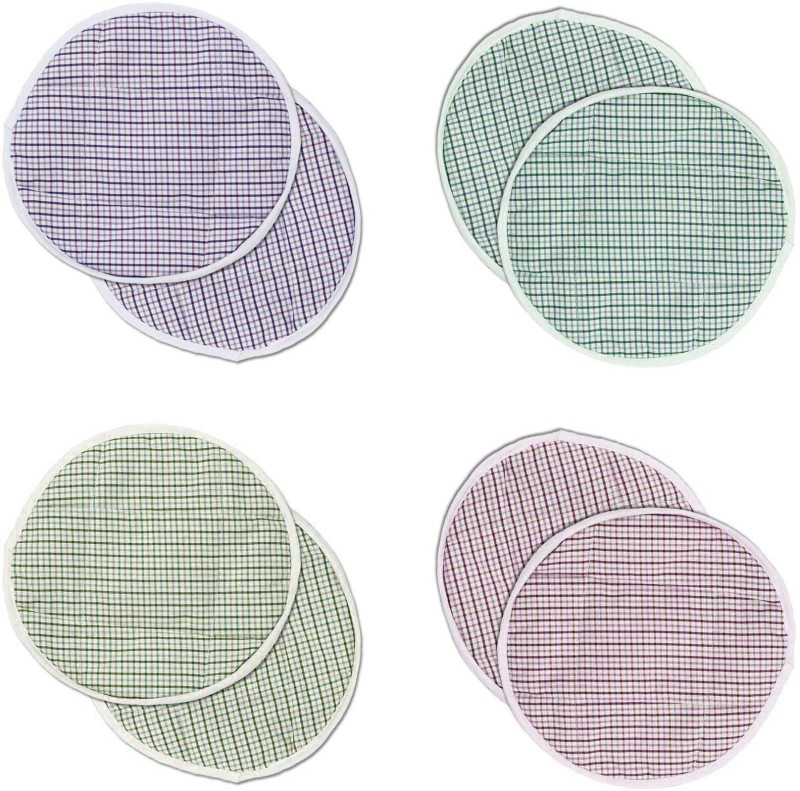 Goldcave Striped Roti Disk Cover(Multicolor)