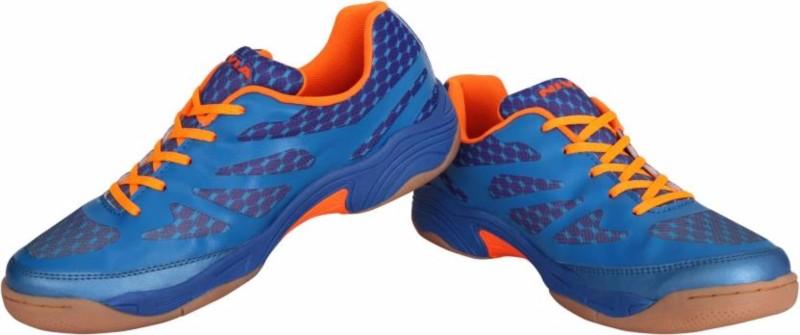 Nivia Blue NEW VERDICT Badminton Shoes For Men(Blue)