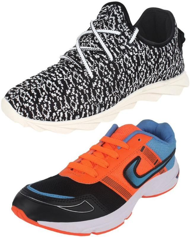 World Wear Footwear Combo 480 395 Running Shoes(Multicolor)