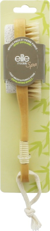 Elite Models Elite Models Spa 2 in 1 Foot Brush & Pumice Stone