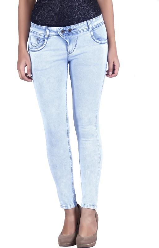 Bat Regular Women Light Blue Jeans