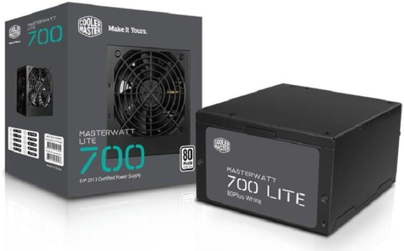 Cooler Master MasterWatt Lite 700W 230V 700 Watts PSU(Black)