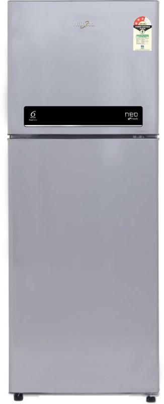 Whirlpool 265 L Frost Free Double Door Refrigerator(Swiss Silver, NEO...