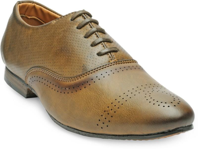 Adreno Arthur Lace Up For Men(Brown)