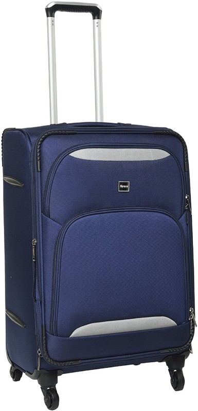 Space E04 Four Wheel Expandable Cabin Luggage - 20 inch(Blue)