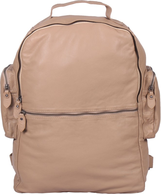romari beigeback Backpack(Beige, 5 L)