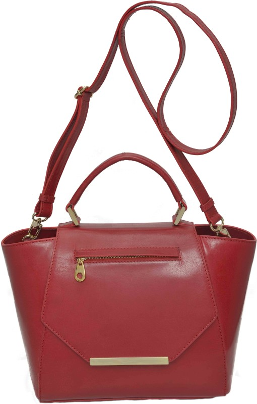 RI2K Women Red Satchel