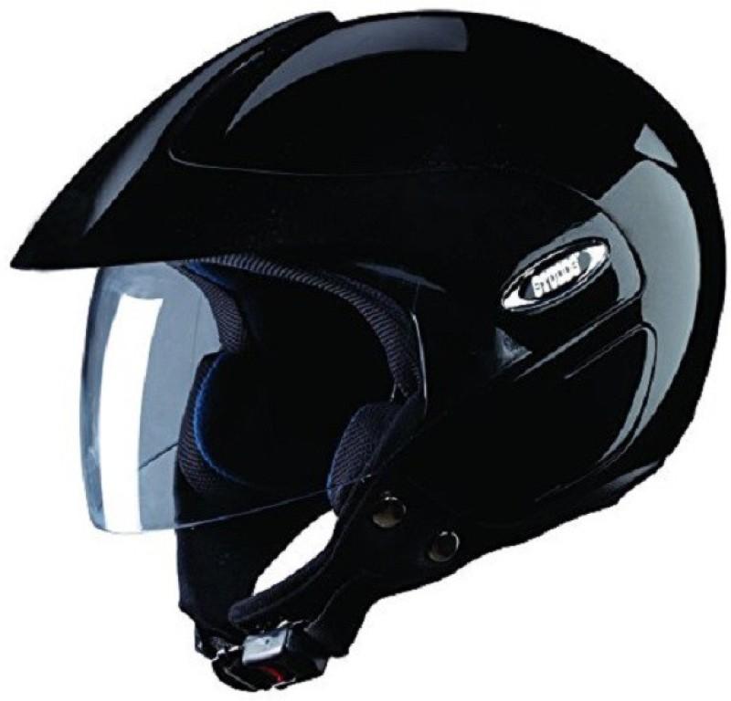 Studds Marshall Motorbike Helmet(Glossy Black)