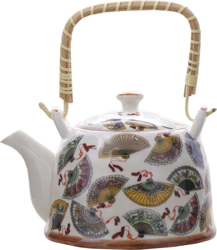 EZ Life EZ Life Ceramic Tea Pot - 900ml - Fans Kettle Jug(0.9 L)
