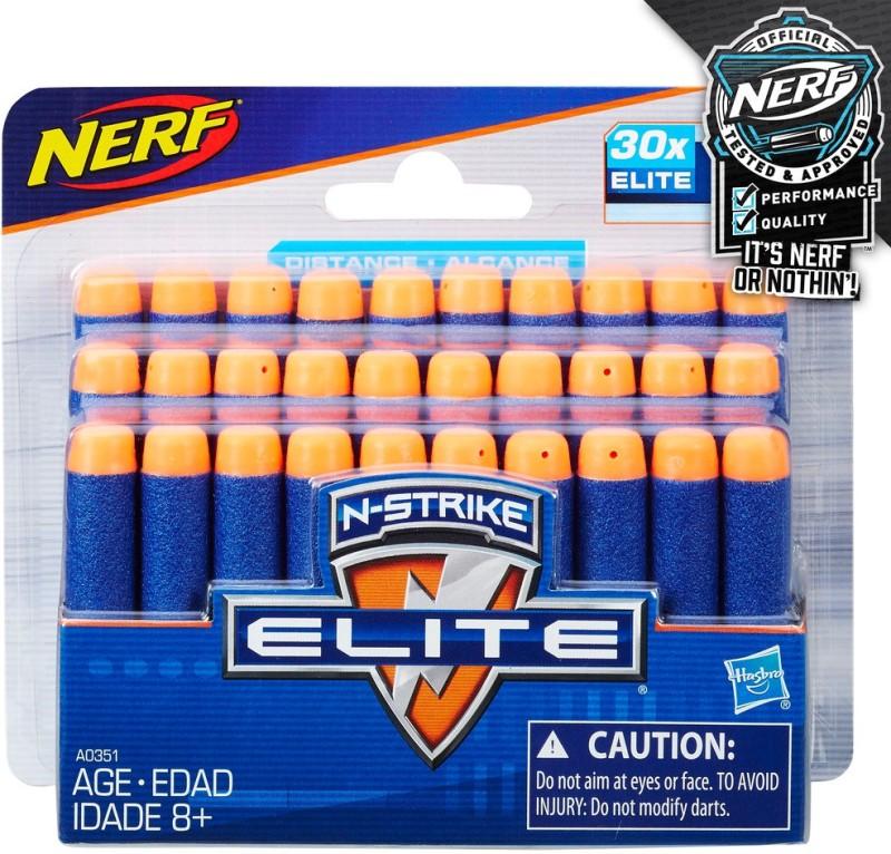 Nerf N-Strike Elite 30 Dart Refill(Multicolor)