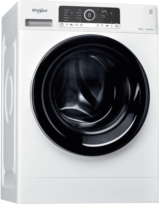 Whirlpool 8 kg Fully Automatic Front Load Washing Machine White(Supreme...