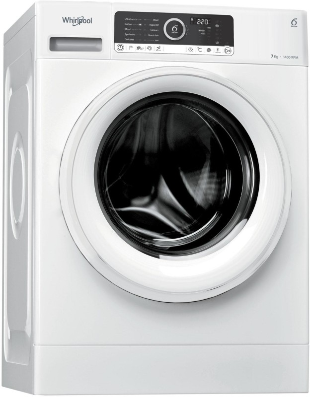Whirlpool 7 kg Fully Automatic Front Load Washing Machine White(Supreme...