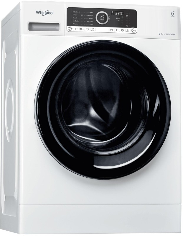 Whirlpool 9 kg Fully Automatic Front Load Washing Machine White(Supreme...