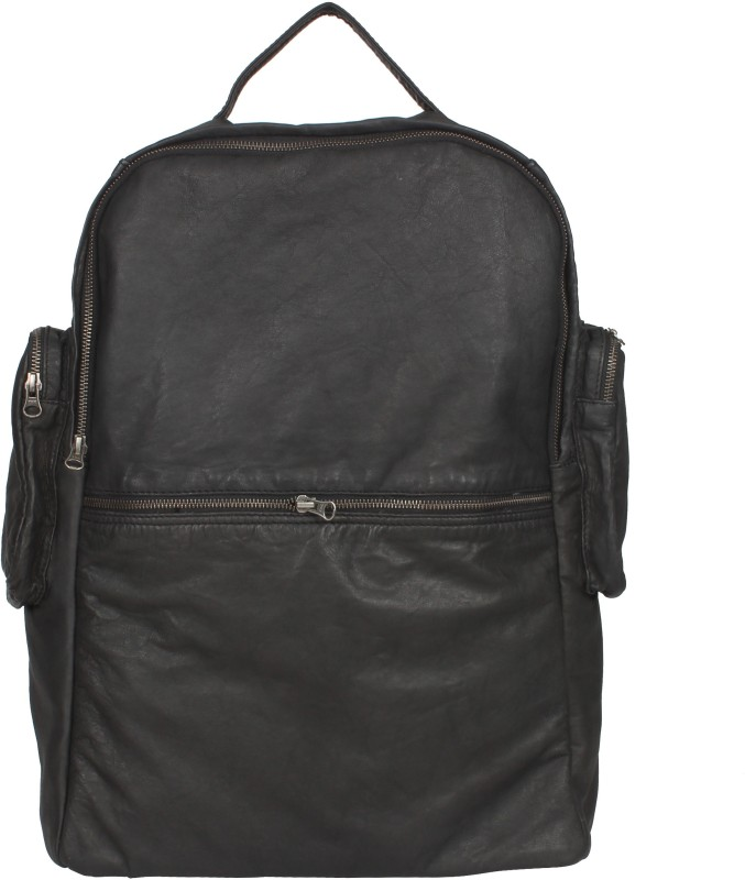 romar blkback Backpack(Black, 15 inch)