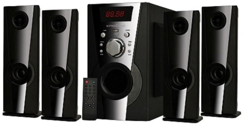 KRISONS EIFFEL 4.1 (5.25) Bluetooth Home Theatre(Black, 4.1 Channel)