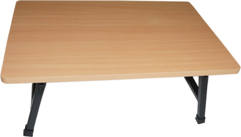 Muren Engineered Wood Study Table(Free Standing, Finish Color - Cream)