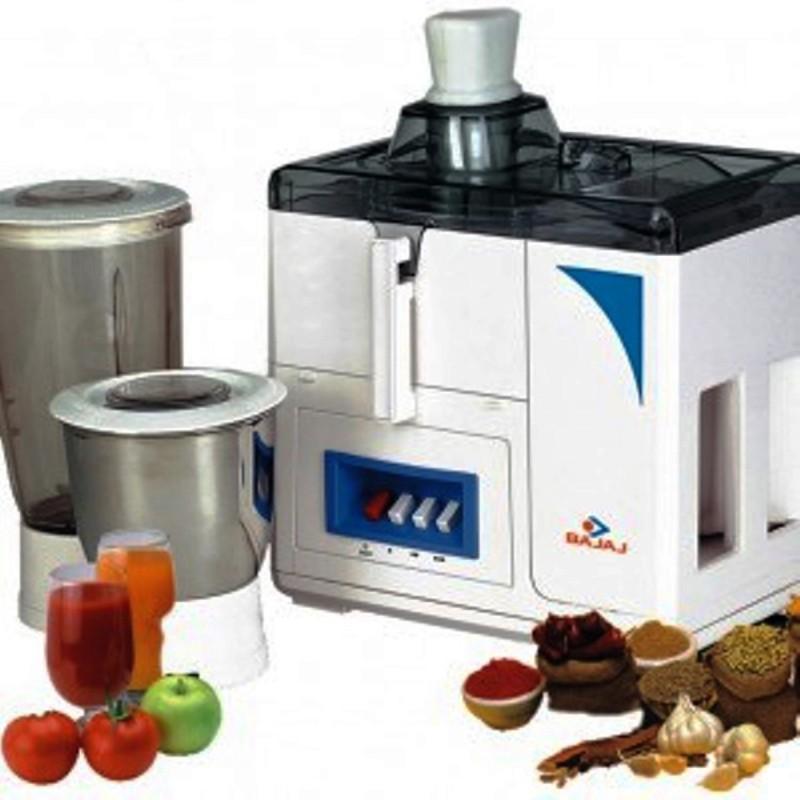 BAJAJ 410072 450 W Juicer Mixer Grinder(Black, White, 2 Jars)