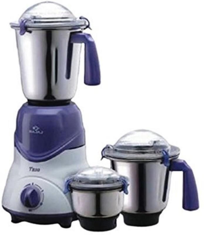 BAJAJ 410158 600 W Mixer Grinder(Black, White, 3 Jars)