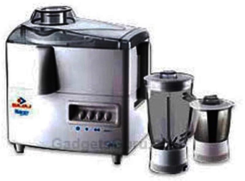 BAJAJ 410034 450 W Juicer Mixer Grinder(Black, White, 2 Jars)