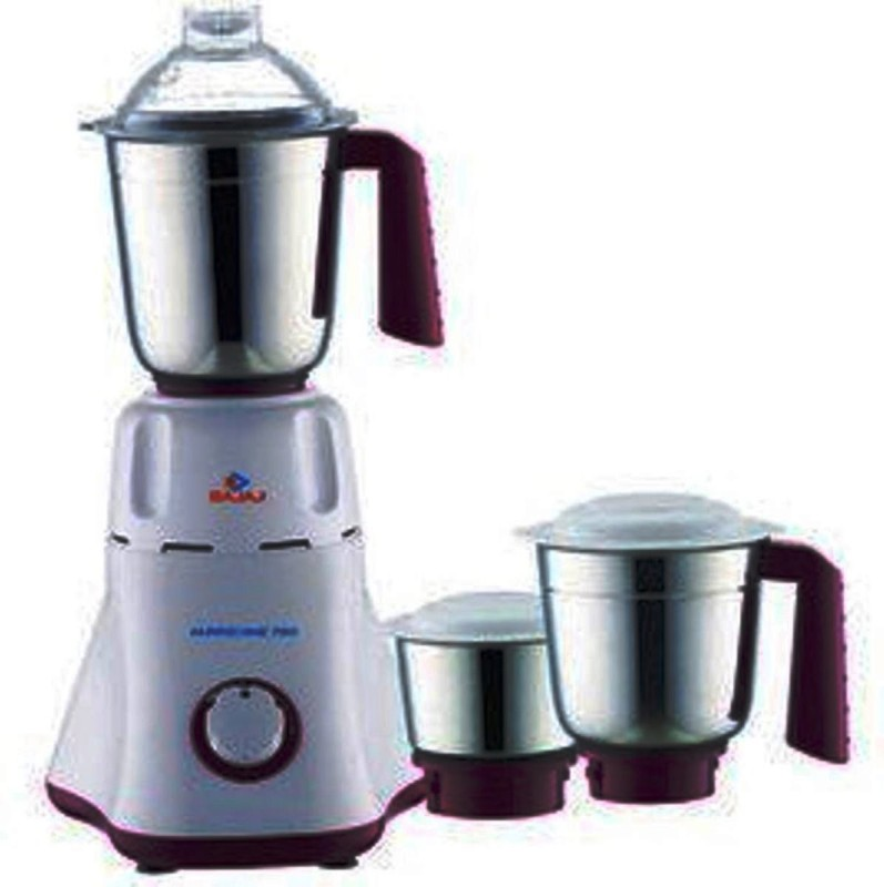 BAJAJ 410134 750 W Mixer Grinder(Black, White, 3 Jars)
