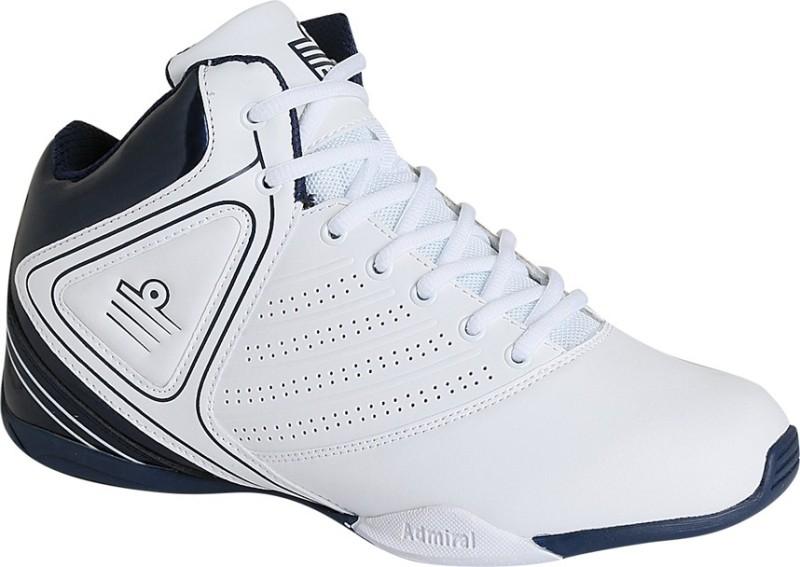 Admiral Dribbler Basketball Shoes For Men(White)