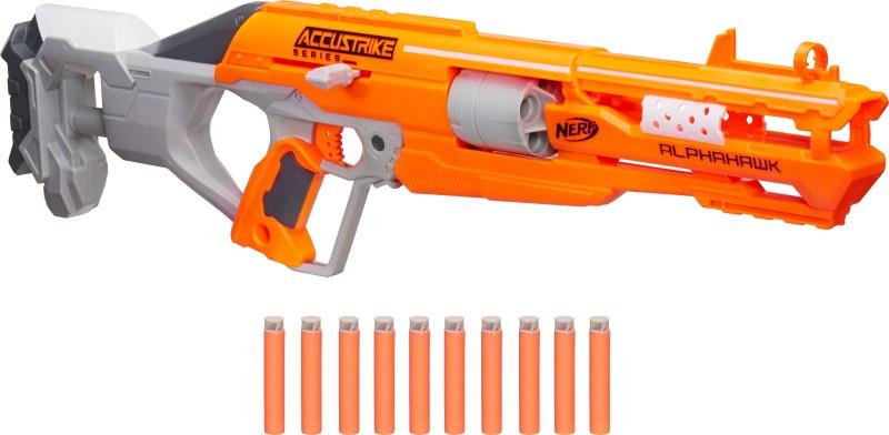 Nerf Alphahawk N-Strike Elite Blaster(Multicolor)