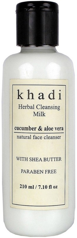 Khadi Herbal Cucumber & Aloevera Cleansing Milk Cream with Sheabutter(210 ml)