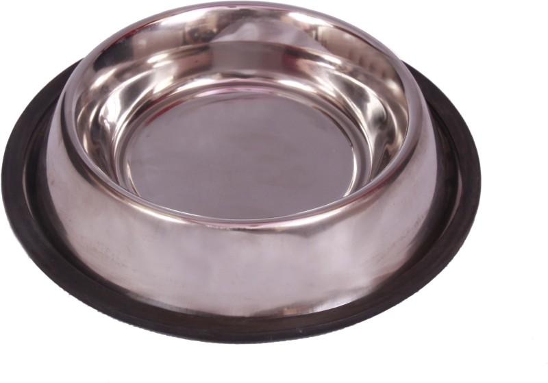 royalpet round Steel Pet Bowl(600 ml White)