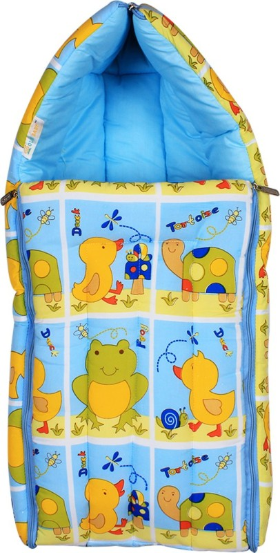 Ole Baby Ole Baby 3 in 1 Frog Tortoies & Duck Hooded Reversible Carry Nest cum Baby Sleeping Bag Sleeping Bag(Dark Blue) Ole Baby 3 in 1 Frog Tortoies & Duck Hooded Reversible Carry Nest cum Baby Sleeping Bag