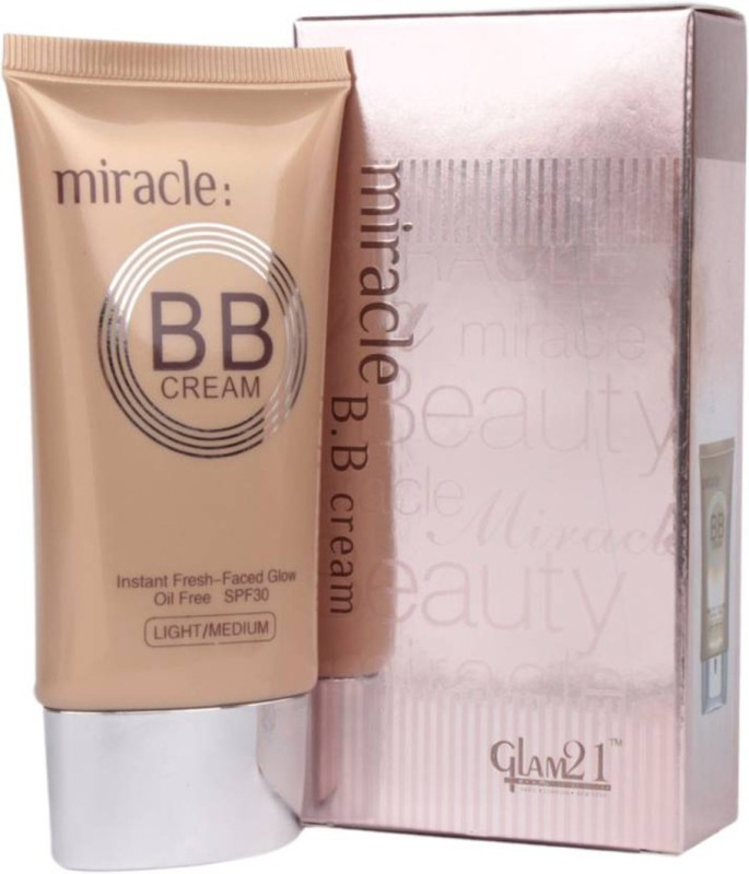 Glam 21 AGE MIRACLE BB Foundation(Beige, 40 g)