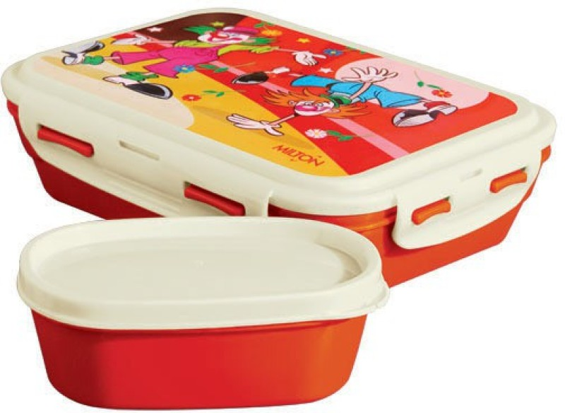 Milton FUN TREAT FOR KID 1 Containers Lunch Box(400 ml)