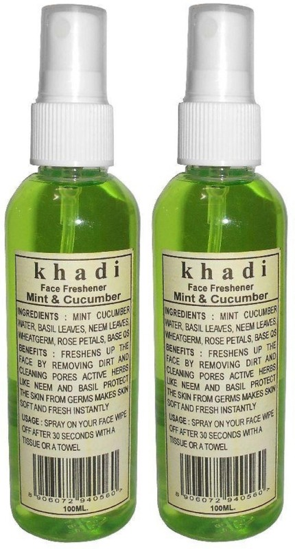 Khadi herbal Mint & Cucumber Face Freshener(20 ml)