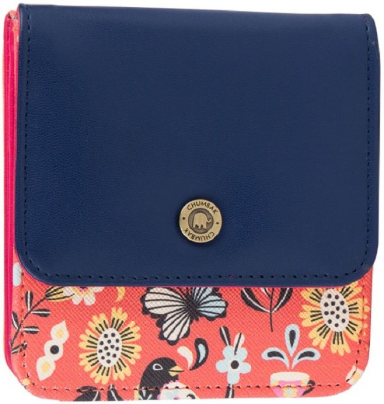 Chumbak Women Casual Multicolor Artificial Leather Wallet(6 Card Slots)