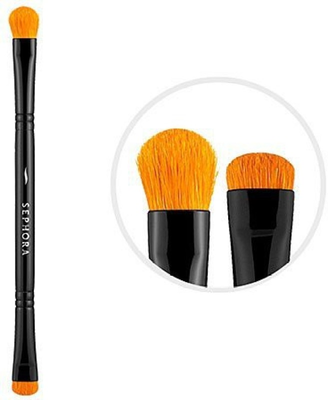 Sephora Collection Classic Double-ended Every Day Eye Brush(Pack of 1)