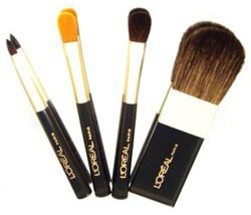 L'Oreal Paris L'oreal Makeup Artiste Travel Brush Set(Pack of 4)
