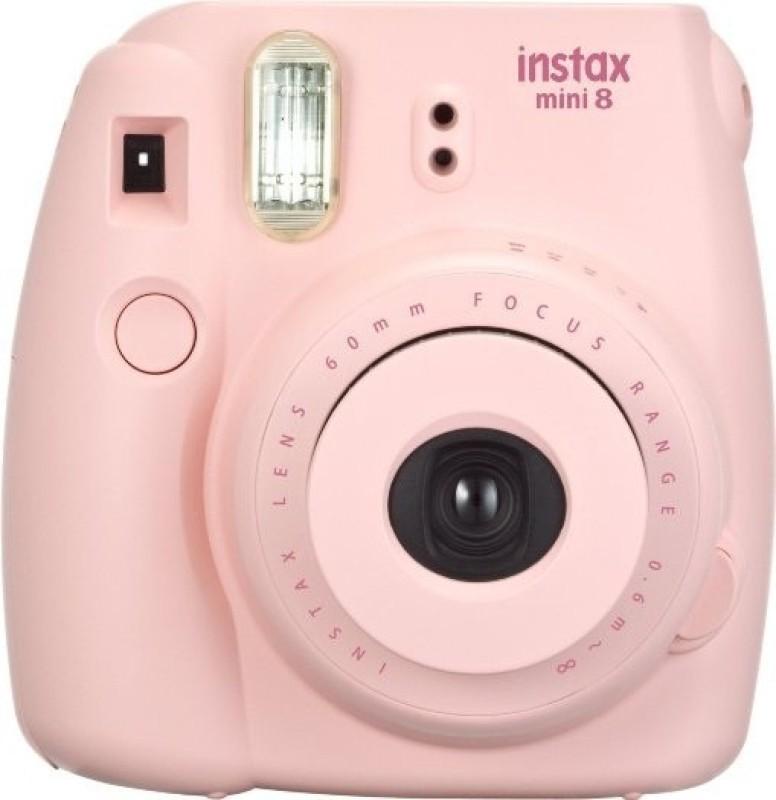 Fujifilm Instax Mini 8 Instant Camera(Pink) image